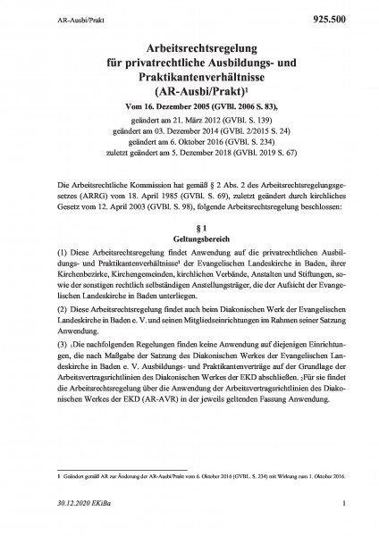 925.500 AR-Ausbi/Prakt