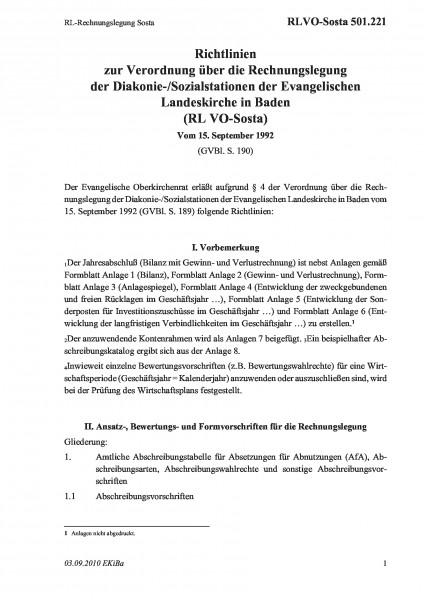 501.221 RL-Rechnungslegung Sosta