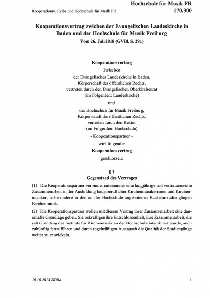 170.300 Kooperationsv. Ekiba und Hochschule für Musik FR