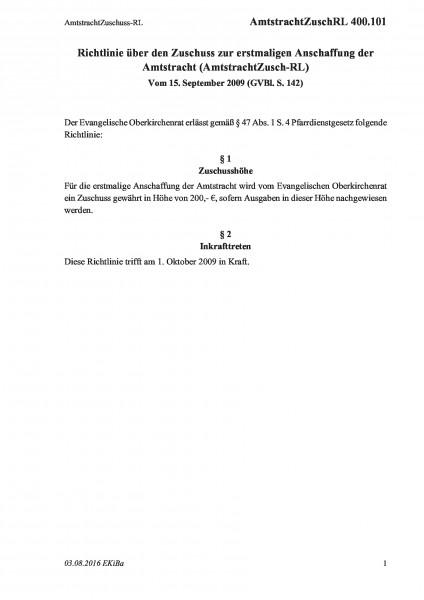400.101 AmtstrachtZuschuss-RL
