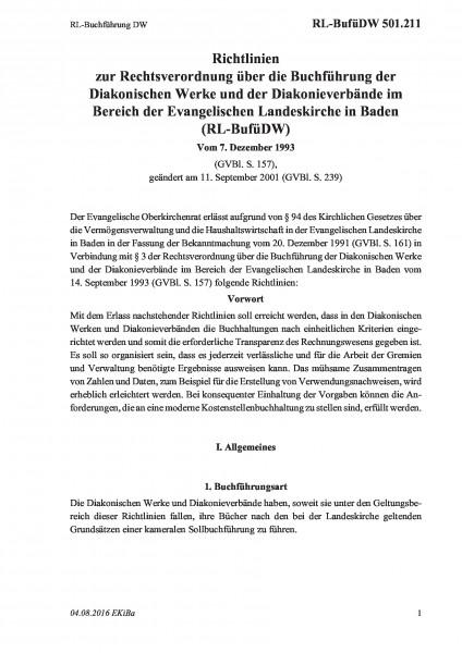 501.211 RL-Buchführung DW
