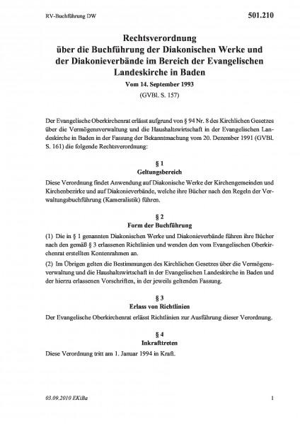501.210 RV-Buchführung DW