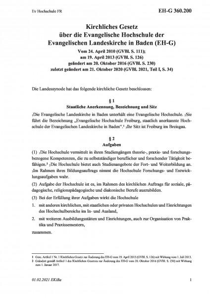 360.200 Ev Hochschule FR