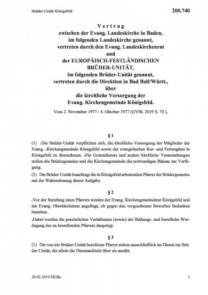 200.740 Brüder-Unität Königsfeld