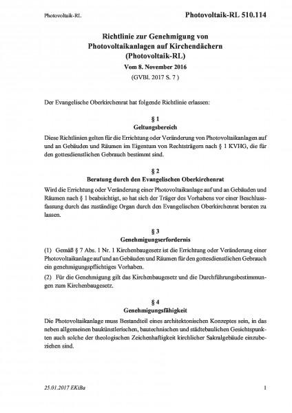 510.114 Photovoltaik-RL