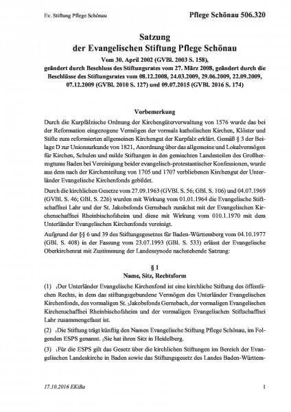 506.320 Ev. Stiftung Pflege Schönau