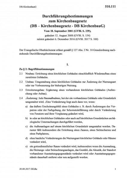 510.111 DB-KirchenbauG